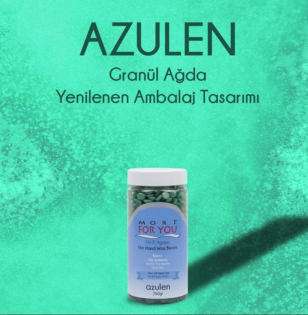More For You Film Sir El Ağdası Boncuk Granül  Azulen (Yeşil) 250 gr PET