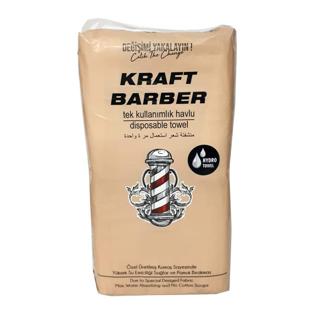 Kraft Berber Tek Kullanımlık Havlu (Tekli Paket ) 100lü